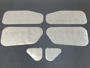 Holden HD, HR Inner Door Gaskets, Trim Moisture Dust Seals - Sedan, Wagon