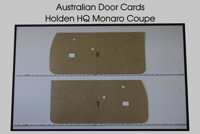 Holden HQ, HJ, HX Coupe Front Door Cards