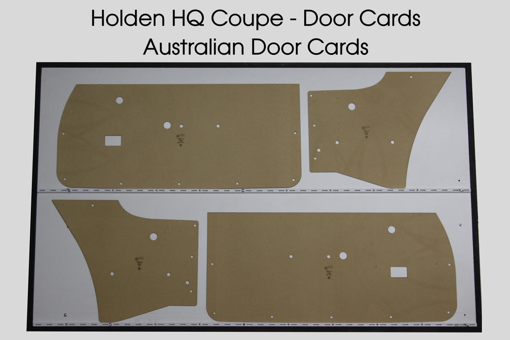 Holden HQ Monaro GTS Door Cards - Coupe Trim Panels