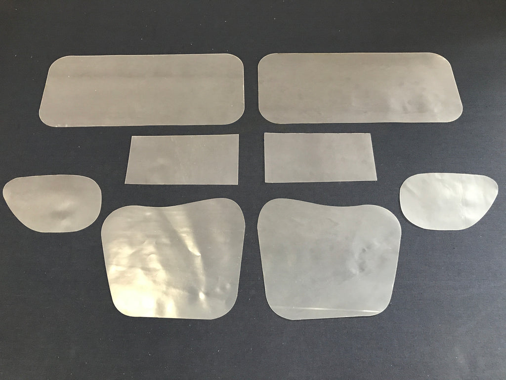 Holden HQ, HJ, HX, HZ Inner Front Door Gaskets, Trim Moisture Dust Seals x8