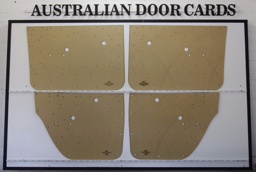 Holden HT Brougham Door Cards - Sedan - Manual Window Models Trim Panels