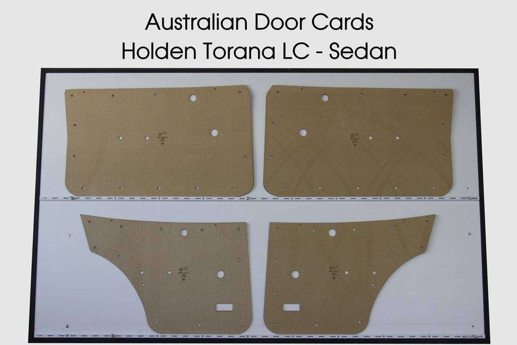 Holden Torana LC Door Cards - Sedan Trim Panels