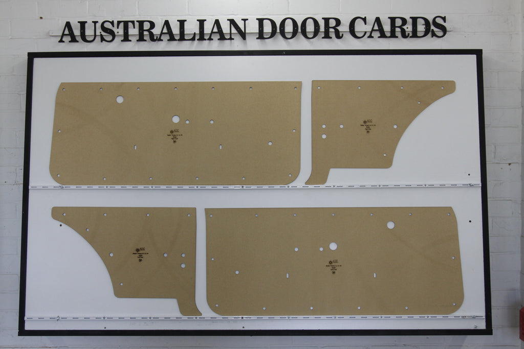 Holden Torana LH, LX, UC Door Cards - Hatchback Coupe - Sunbird A9X Trim Panels