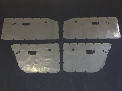 Chrysler Valiant VE VF VG Inner Door Gaskets, Trim Moisture Dust Seals - Sedan, Wagon