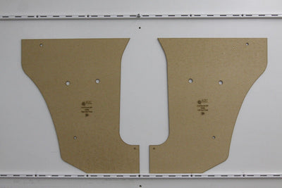 Ford Escort MK1 Kick Panels - Sedan, 4 Door Saloon 1970 - 1975