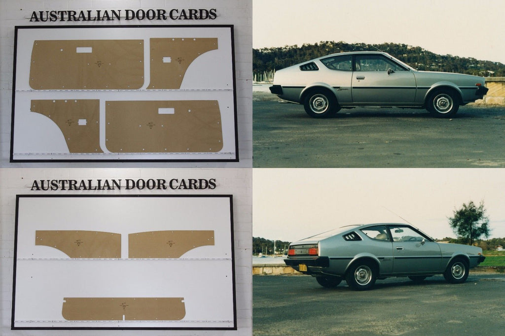 Chrysler Lancer LC Door Cards - Hatchback, Liftback - Mitsubishi