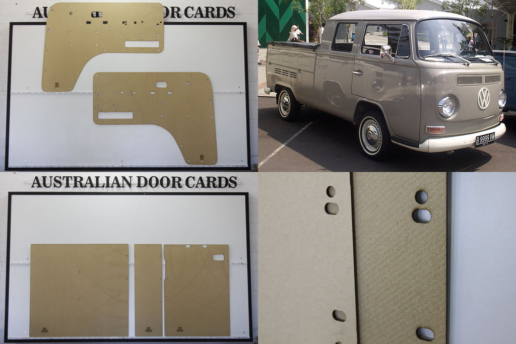 VW Kombi Type 2 Crew Cab 1968-79 3 Door VW Pickup Set of 5