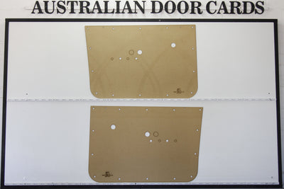 Holden HK Front Door Cards - Kingswood, Premier - Ute, Sedan, Wagon, Panel Van Trim Panels