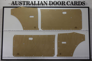 Datsun 120Y Door Cards - Coupe, 3 Door Wagon, Van Trim Panels