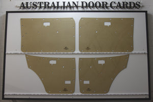 Datsun 120Y Door Cards - Sedan, 4 Door Wagon Trim Panels