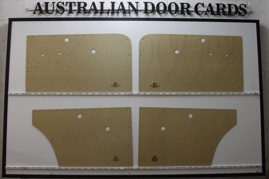 Holden FE Door Cards - Supports Special Strip Sedan/Wagon Trim Panels