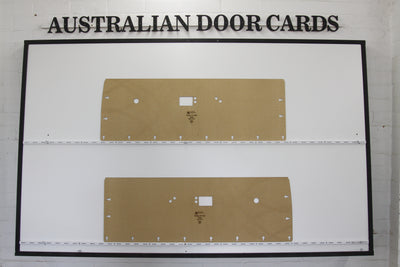 Chrysler Valiant VE, VF, VG Regal Hardtop Front Door Cards - Coupe