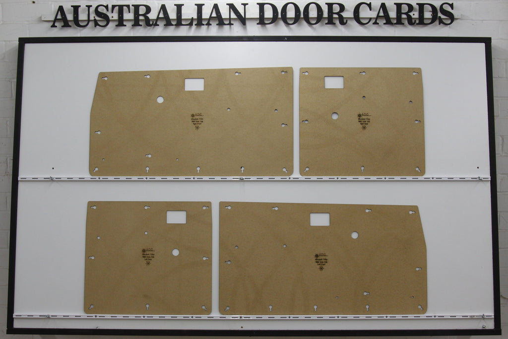 Mitsubishi MH, MJ, Triton Door Cards. Twin Cab