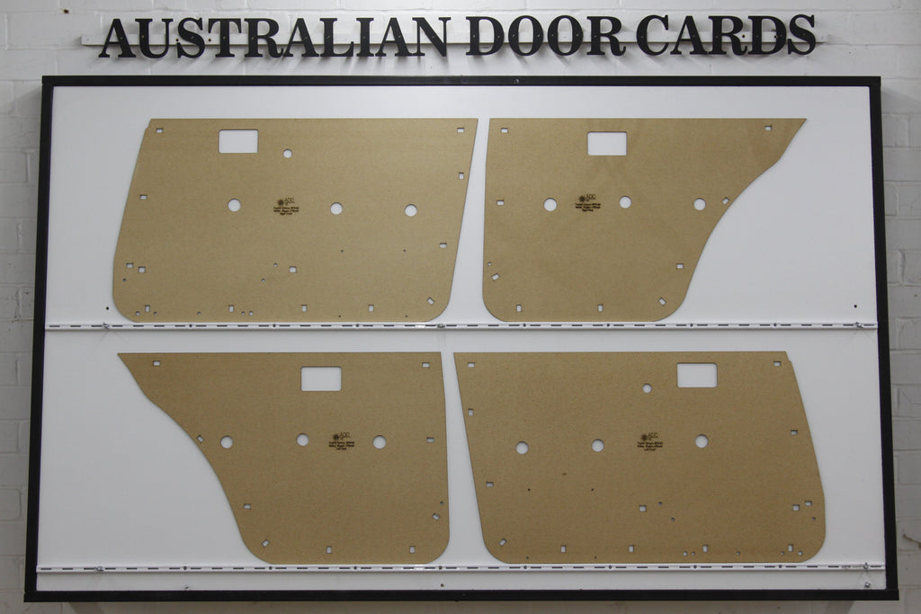 Toyota Corona (1979-83) Door Cards - Sedan, Wagon, Liftback Trim Panels