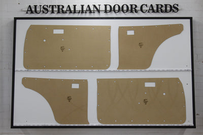Toyota Corolla KE20 Door Cards (1970-1974) - 2 Door Coupe (Without Speaker Holes)