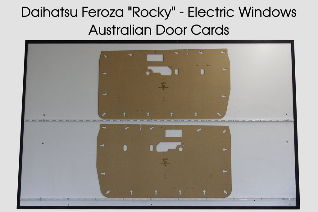 Daihatsu Feroza 'Rocky' Door Cards - Electric Windows