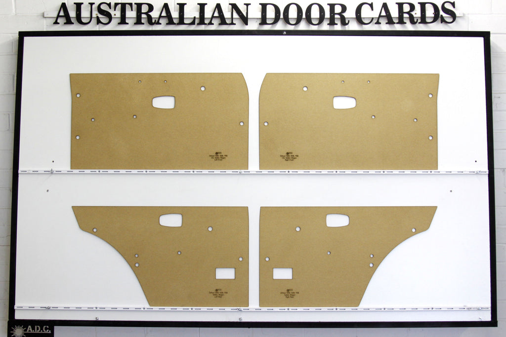 Datsun 1200, B110, B120 Door Cards - Sedan, Wagon Trim Panels
