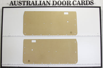 Ford XA, XB Front Door Cards Ute/Coupe/Hardtop/Panel Van Trim Panels