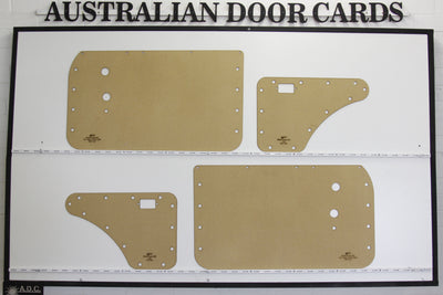 Mazda Familia 800 Van Door Cards, First Generation 1963 - 1968 Trim Panels
