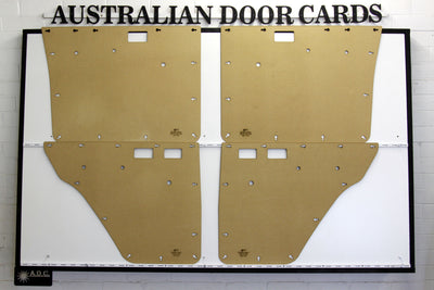 Mitsubishi Pajero Door Cards, Long Wheel Base, First Generation (1982–1991) Trim Panels