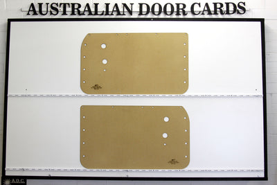 Mazda Familia 800 Front Door Cards - Van, Sedan (2 Door Models), Coupe First Generation 1963-1968 Trim Panels