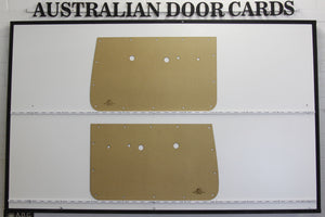Holden EH, EJ Front Door Cards Ute, Sedan, Wagon, Panel Van