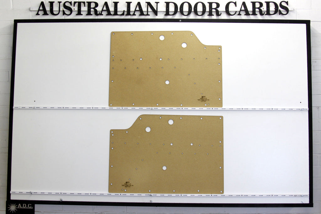 Holden FJ, FX Front Door Cards Ute/Sedan/Wagon/Panel Van Trim Panels