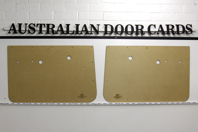 Holden HD, HR Front Door Cards Ute/Sedan/Wagon/Panel Van Trim Panels