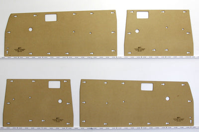 Toyota Hilux Door Cards 4th Generation Aug 1983 - Aug 1988 - Dual Cab Ute