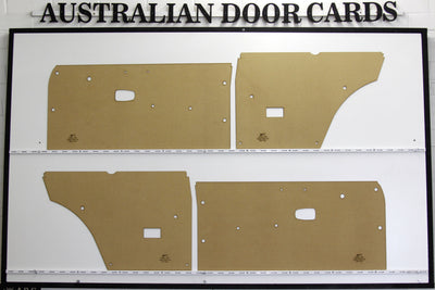 Datsun 1200, B110 Door Cards - Coupe, Panel Van Trim Panels