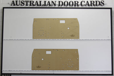 Toyota Hilux Front Door Cards 1978-1983 3rd Generation - Ute, Pick Up Truck Trim Panels