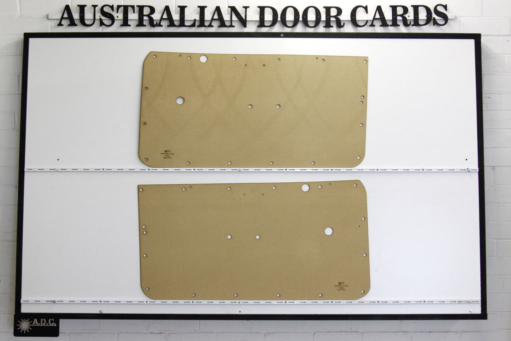 Holden Torana HB Front Door Cards - Coupe Trim Panels