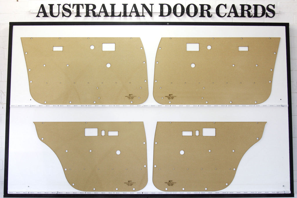 Holden Commodore VB VC VH VK VL Door Cards - Sedan, Wagon Trim Panels