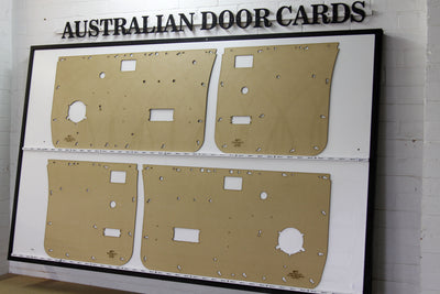 Nissan Navara D21 Door Cards - Standard Window Winder Models - Dual Cab Ute
