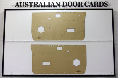 Nissan Navara D21 Front Door Cards - Standard Window Winder Models - Single Cab Ute Trim Panels