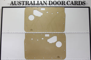 Nissan GQ Patrol / Ford Maverick Front Door Cards - Electric Window Model - SUV, Ute, Cab Chassis Trim Panels