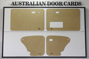 Volkswagen VW Beetle 1967 - 1977 Door Cards - Optional Cut Outs