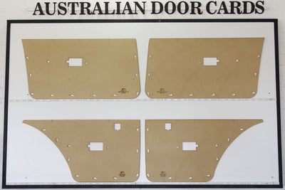 Ford Falcon XD, XE Electric Door Cards Sedan, Wagon