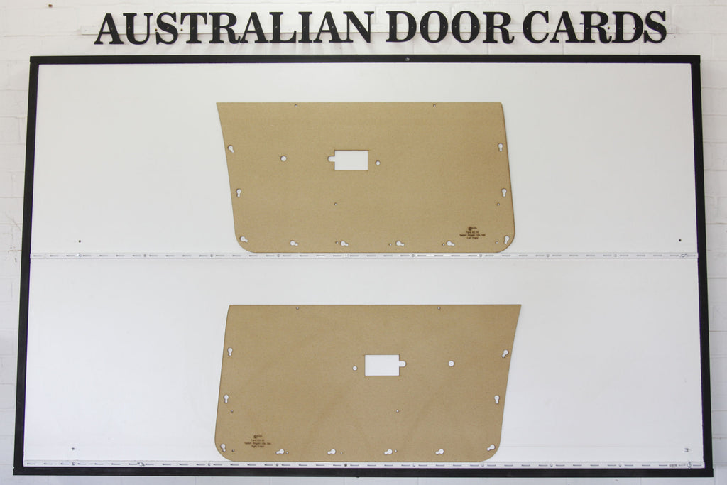 Ford Falcon XD, XE Front Door Cards Ute, Sedan, Wagon, Van