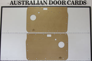 Nissan Patrol GQ Front Door Cards - Window Winder Model Trim Panels