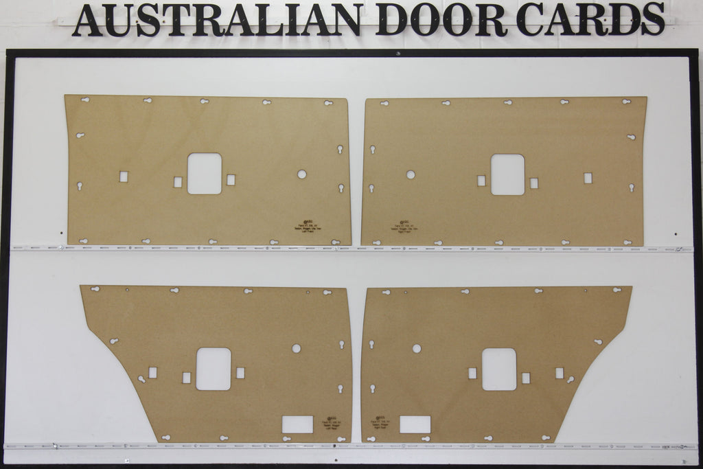 Ford XT, XW, XY, ZB, ZC, ZD Door Cards Sedan/Wagon Trim Panels