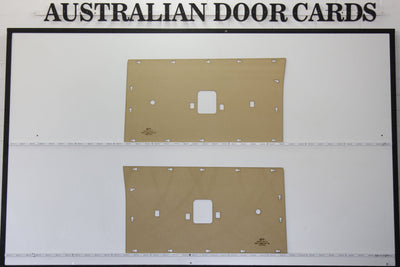 Ford Falcon XT, XW, XY Front Door Cards - Ute, Sedan, Wagon, Panel Van Trim Panels