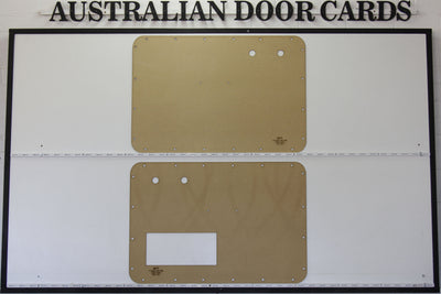 Volkswagen VW Beetle 1956 - 1966 Front Door Cards - Optional Cut Outs Trim Panels