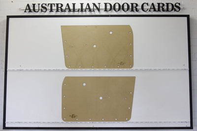 Datsun 1600 / Nissan 510 Front Door Cards - Sedan, Wagon, Ute Trim Panels