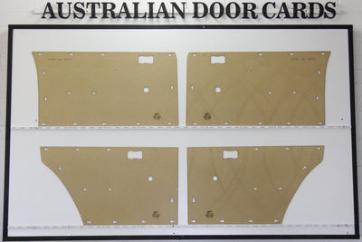 Ford Falcon, Fairmont, XA, XB Door Cards Sedan/Wagon Trim Panels