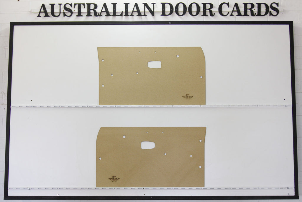 Datsun 1200, B110, B120 Front Door Cards - Sedan, Wagon, Ute Trim Panels