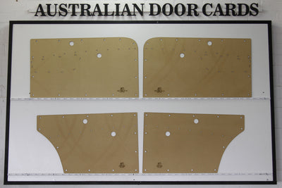 Holden FC Door Cards - Supports Special Chrome Strip Sedan/Wagon Trim Panels
