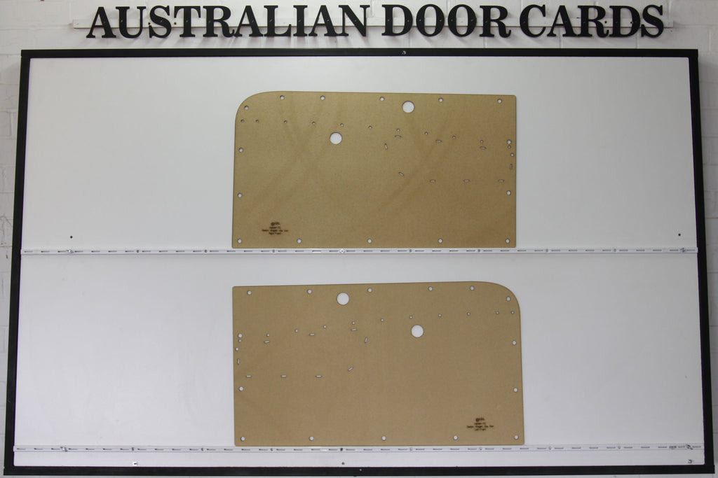 Holden FC Front Door Cards - Supports Special Strip Ute/Sedan/Wagon/Panel Van Trim Panels