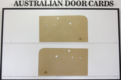 Holden FE Front Door Cards - Supports Special Strip Ute, Sedan, Wagon, Panel Van
