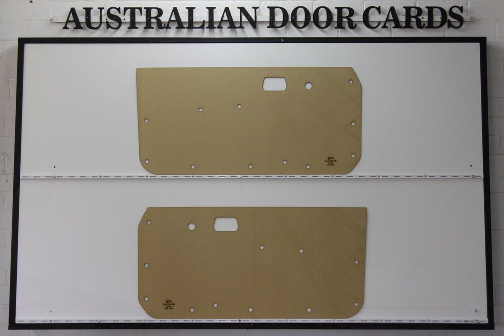 Mazda RX3, 808 Front Door Cards - Coupe Trim Panels